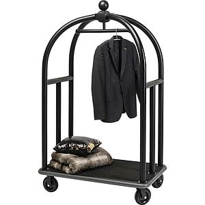 Porte-bagages VIP VEGAS Kare Design noir mat