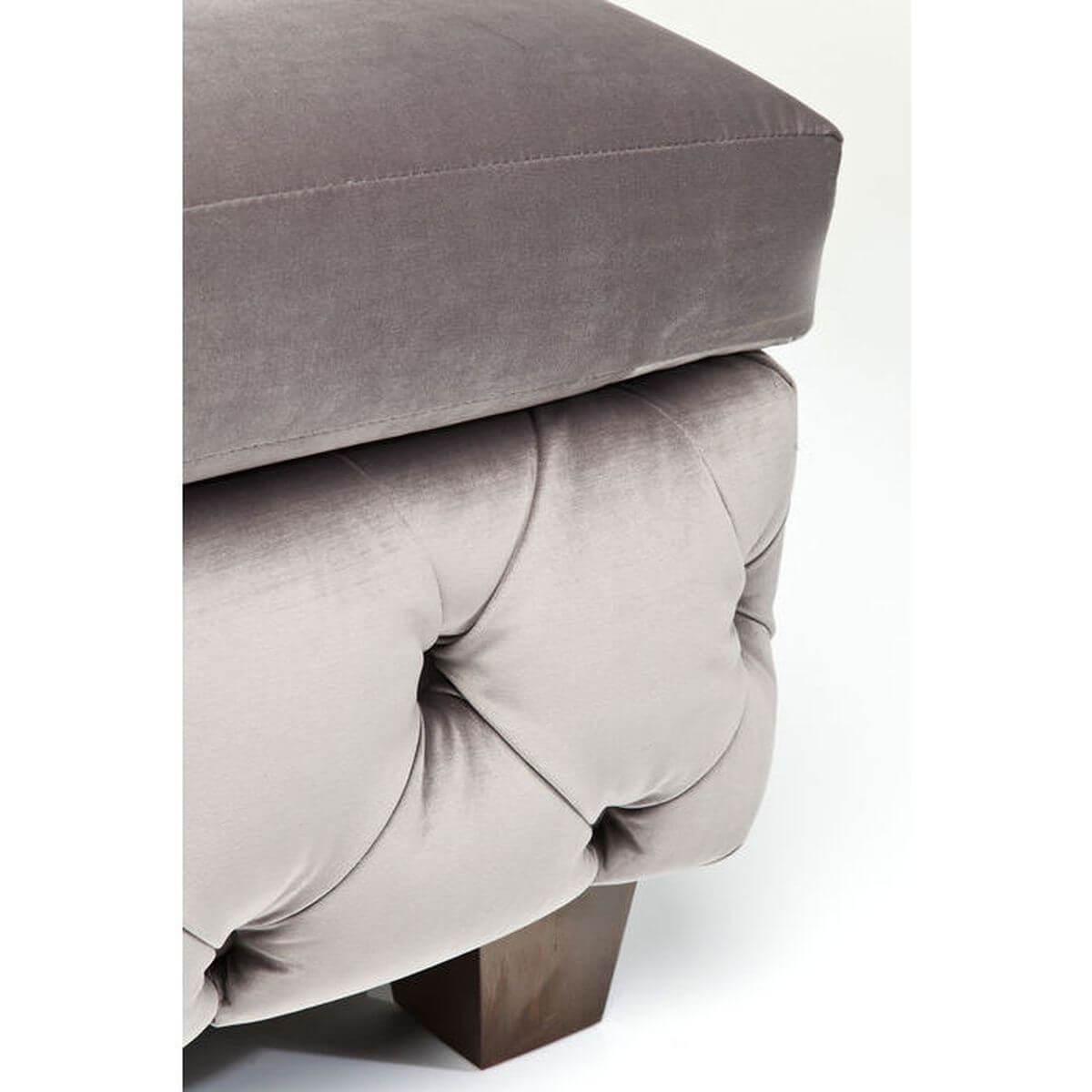 Pouf MY DESIRE Kare Design velvet gris