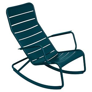 Rocking chair LUXEMBOURG Fermob bleu acapulco