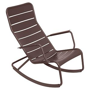 Rocking chair LUXEMBOURG Fermob Brun rouille