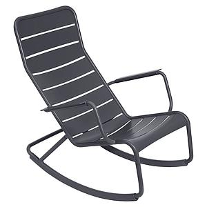 Rocking chair LUXEMBOURG Fermob Carbone