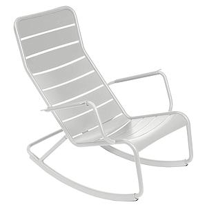 Rocking chair LUXEMBOURG Fermob Gris métal