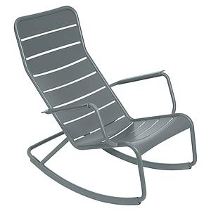 Rocking chair LUXEMBOURG Fermob Gris orage