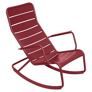 Rocking chair LUXEMBOURG Fermob piment