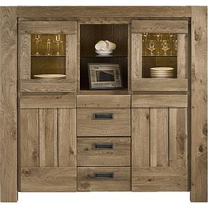 SANTORINI by Henders & Hazel Highboard castle sand