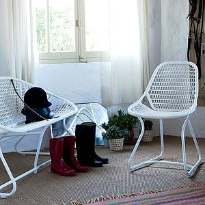SIXTIES by Fermob Chaise structure blanc