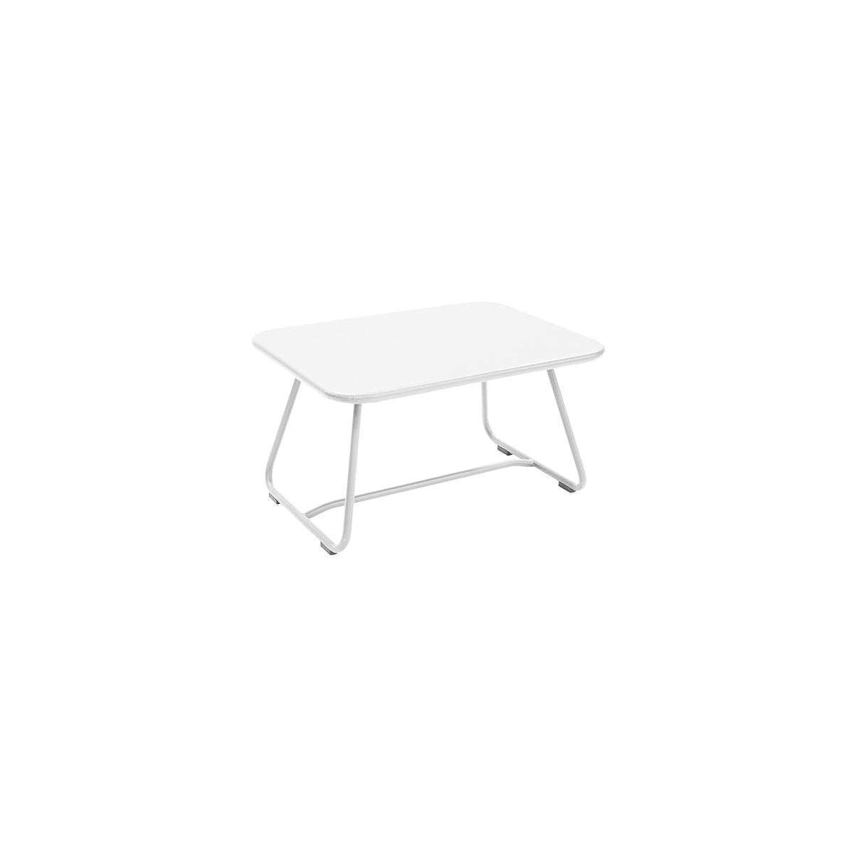 SIXTIES by Fermob Table basse Blanc coton