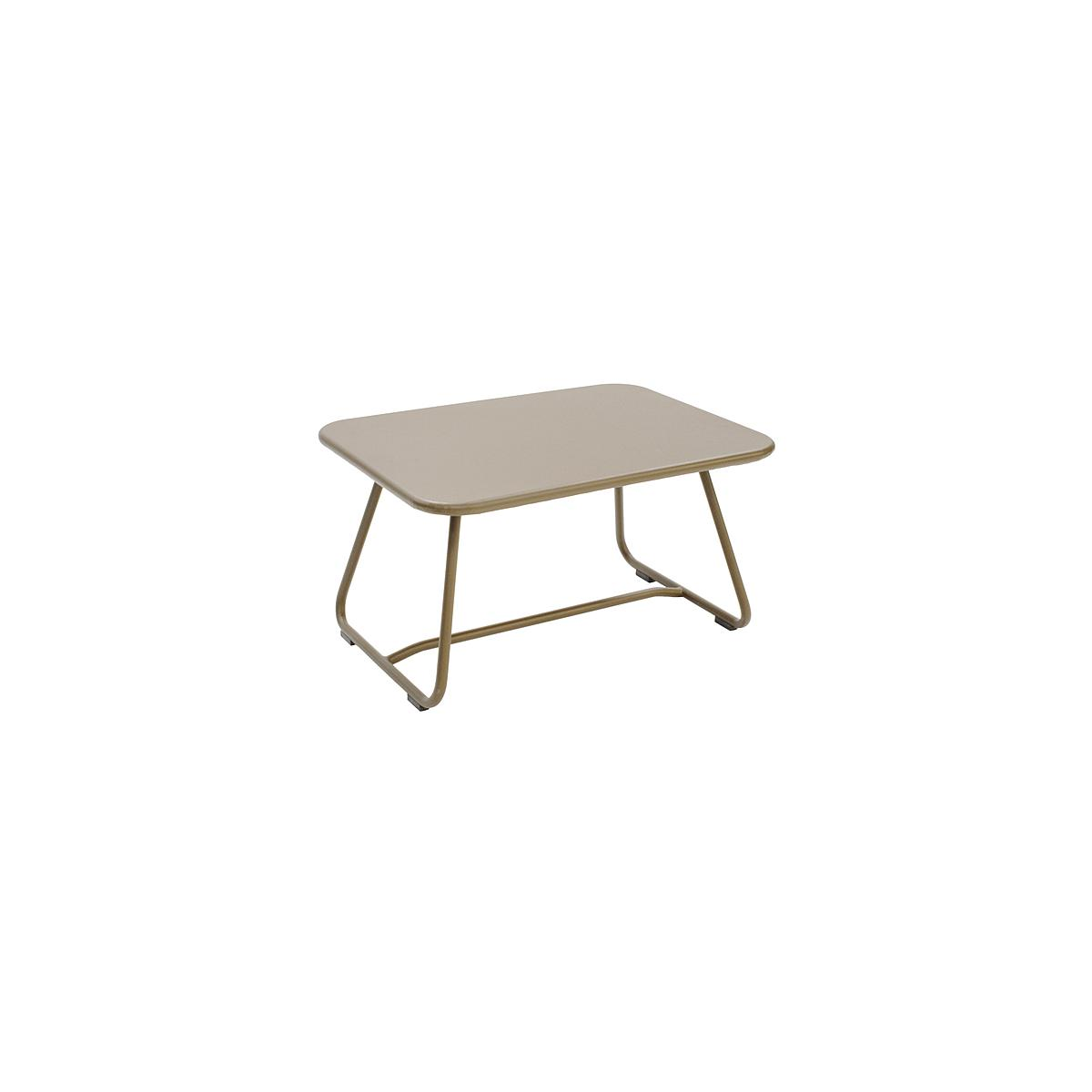 SIXTIES by Fermob Table basse Brun muscade