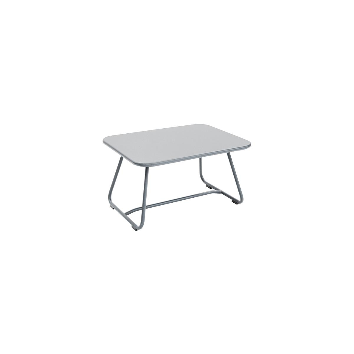 SIXTIES by Fermob Table basse Gris métal