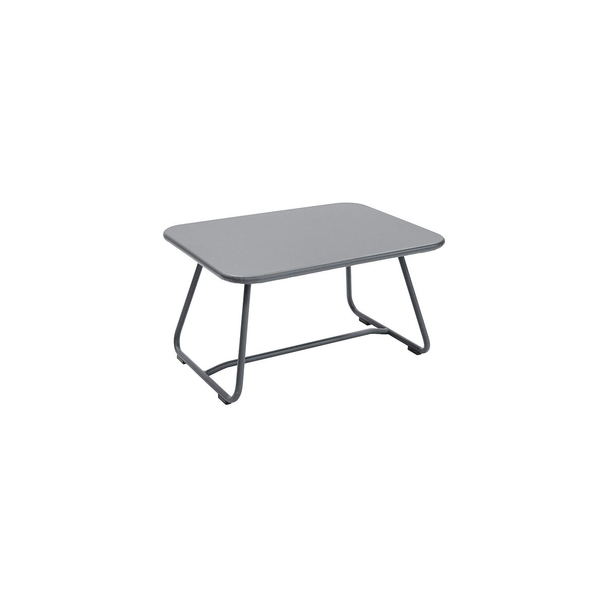 SIXTIES by Fermob Table basse Gris orage