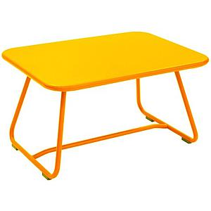SIXTIES by Fermob Table basse Jaune miel