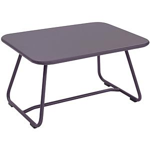 SIXTIES by Fermob Table basse Mauve prune