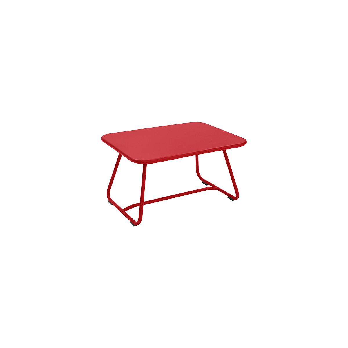 SIXTIES by Fermob Table basse Rouge coquelicot