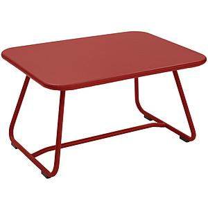 SIXTIES by Fermob Table basse Rouge piment