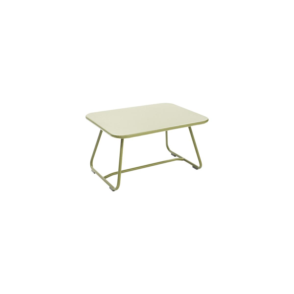SIXTIES by Fermob Table basse Vert tilleul