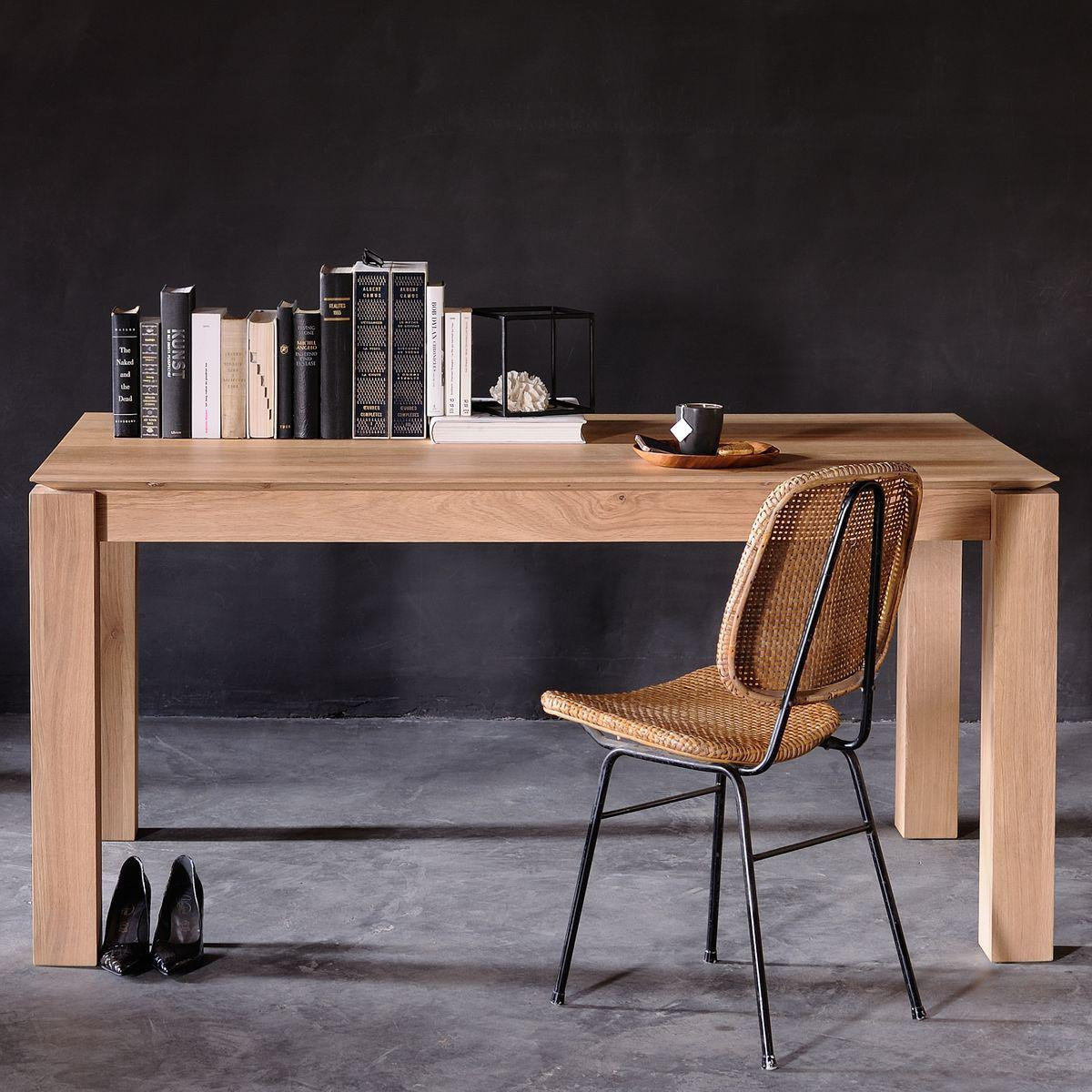 SLICE by  Ethnicraft Table chêne 150x150 cm
