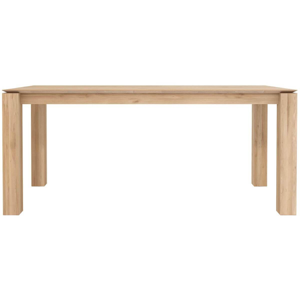 SLICE by  Ethnicraft Table chêne 180x90 cm