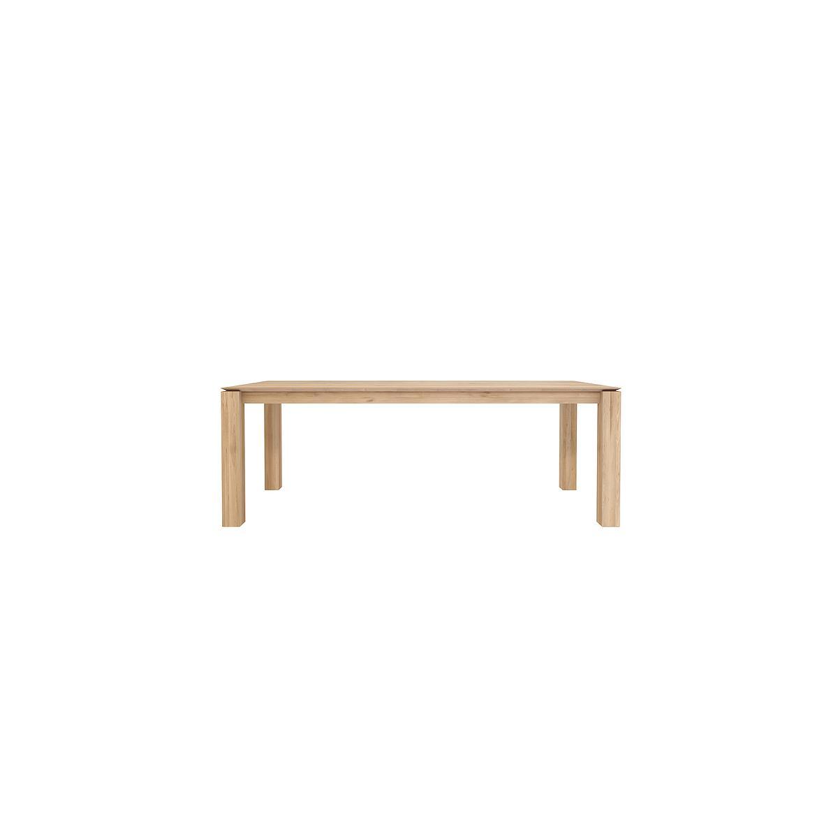 SLICE by  Ethnicraft Table chêne 220x100 cm