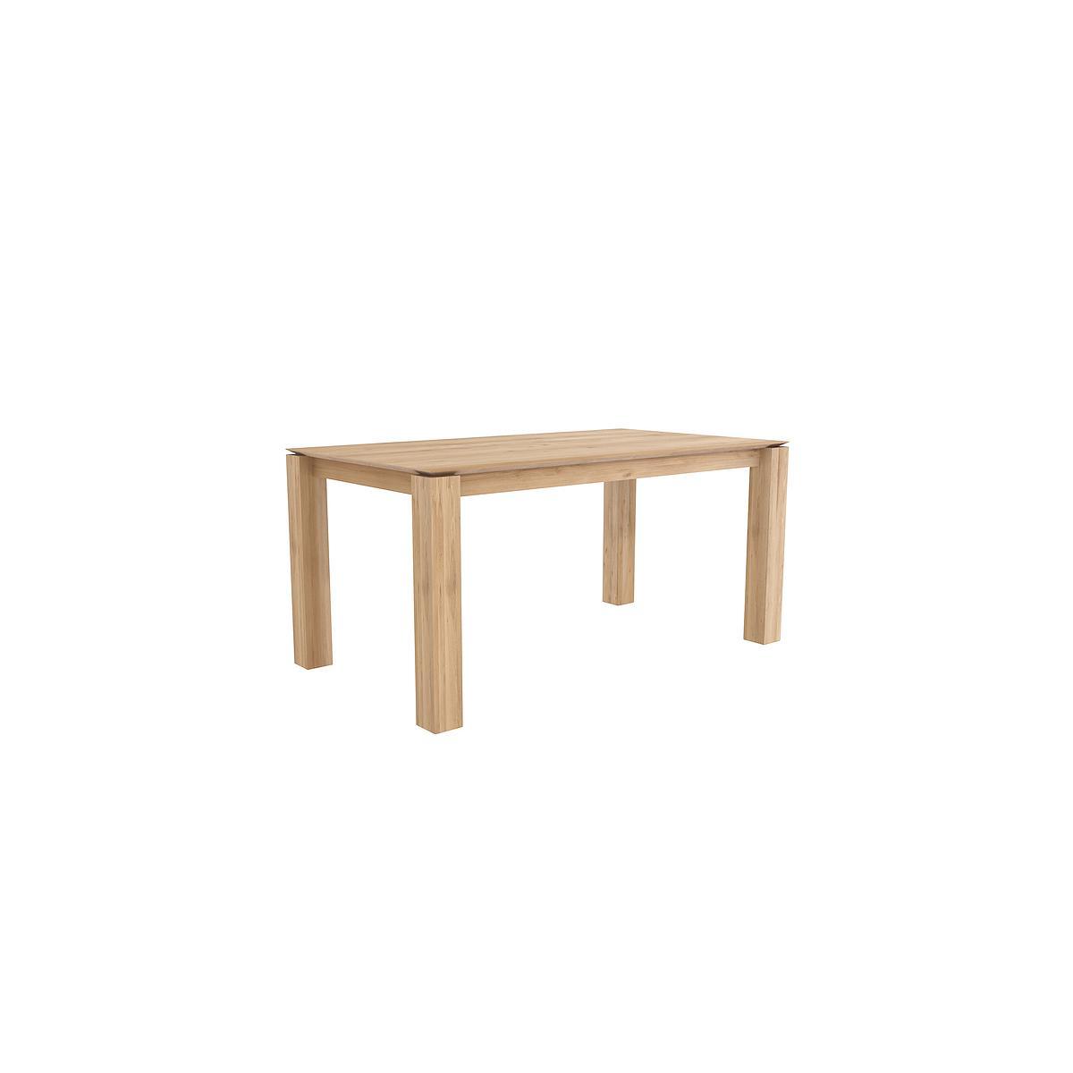 SLICE by  Ethnicraft Table chêne 90x160 cm