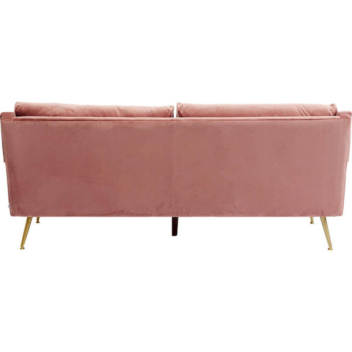 Sofa San Diego rose 3-places 210cm