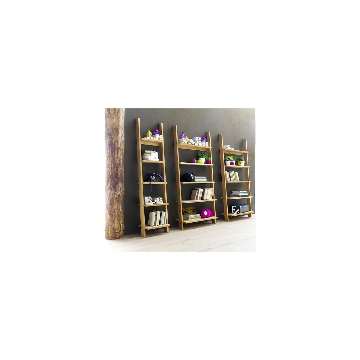 STRADA by Tenzo Bibliothèque Echelle étroite - Gris