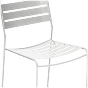 SURPRISING by Fermob Chaise Blanc coton