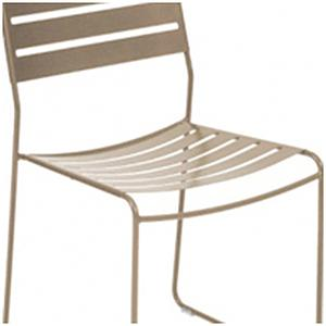 SURPRISING by Fermob Chaise Brun muscade