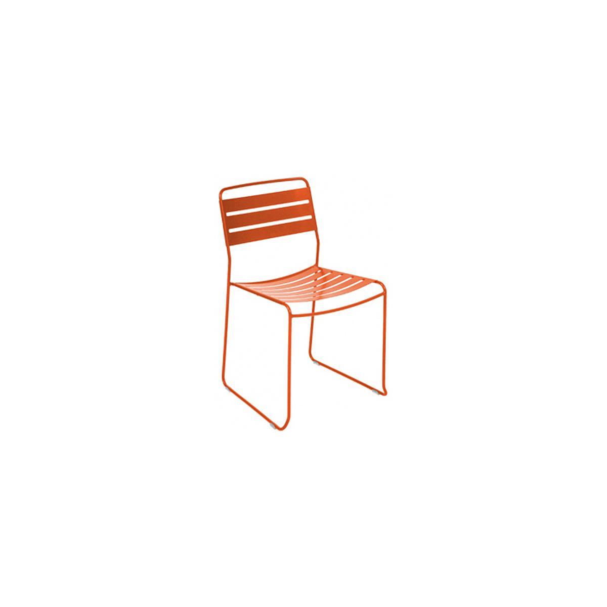 SURPRISING by Fermob Chaise Orange carotte