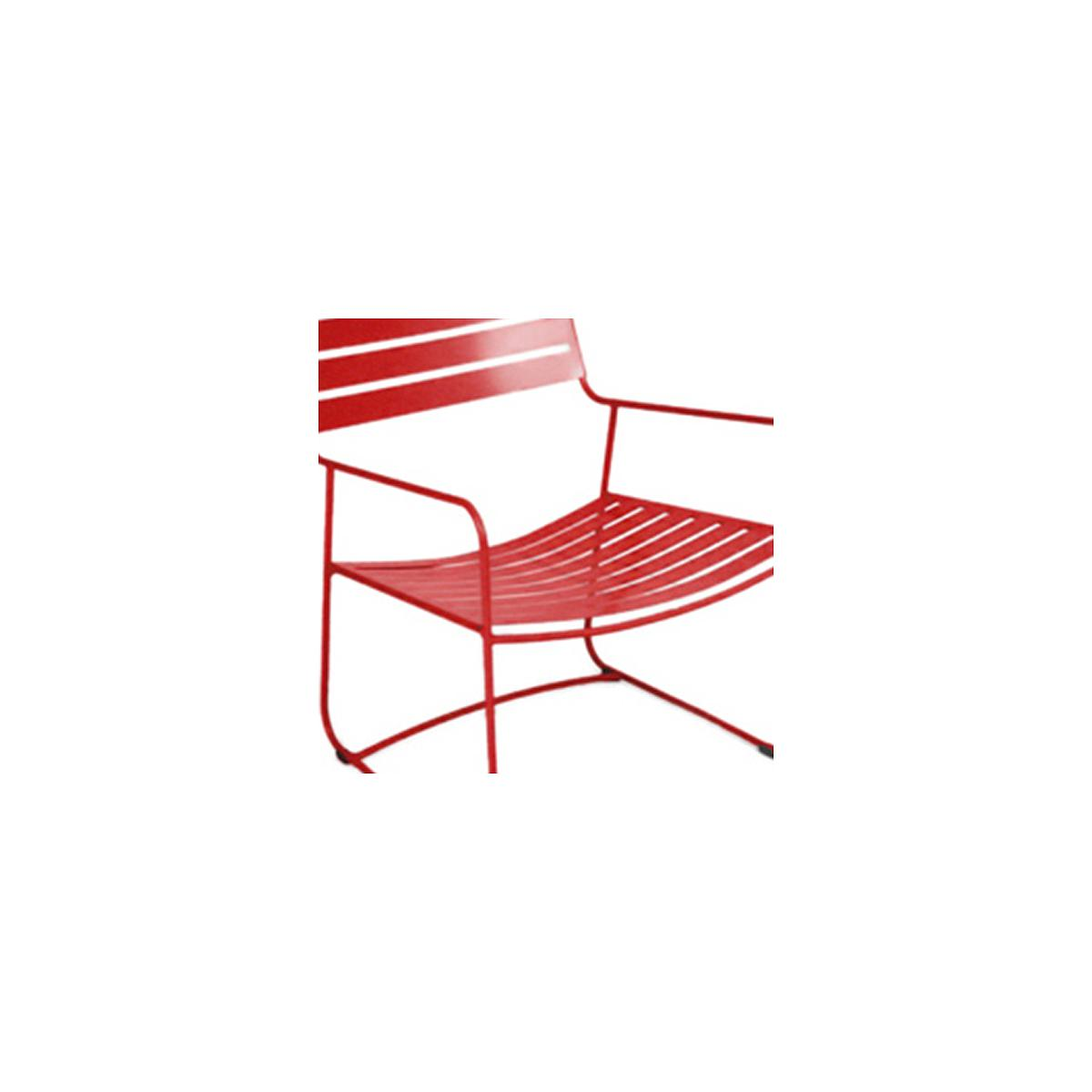 CoquelicotAbitare Fermob Living lu Fauteuil Rouge Bas Surprising By ulJ51TFKc3