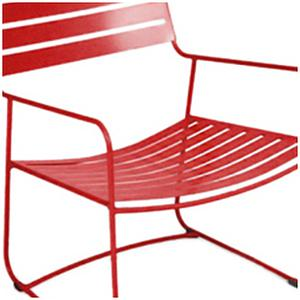 SURPRISING by Fermob Fauteuil bas Rouge coquelicot