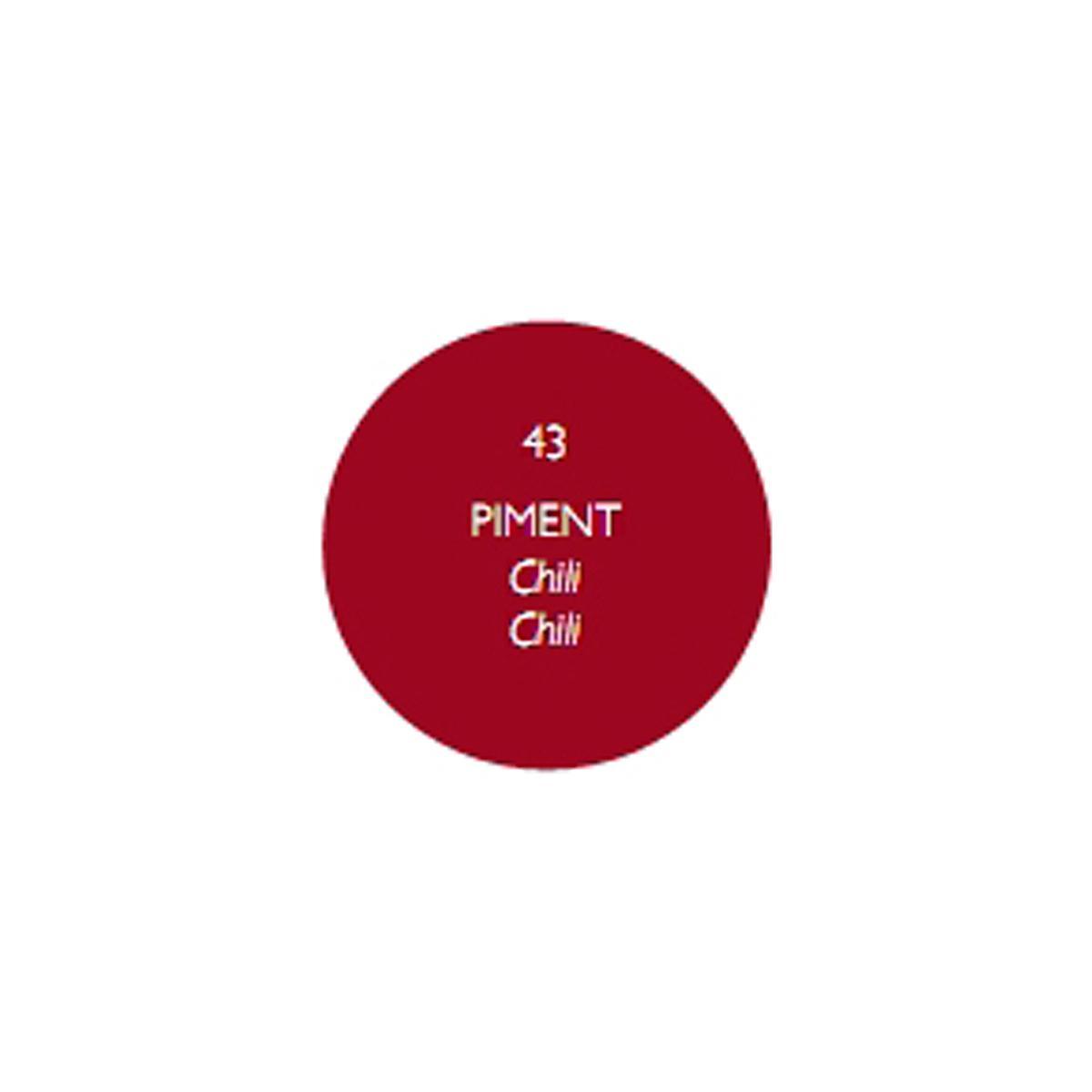 SURPRISING by Fermob Fauteuil bas Rouge piment