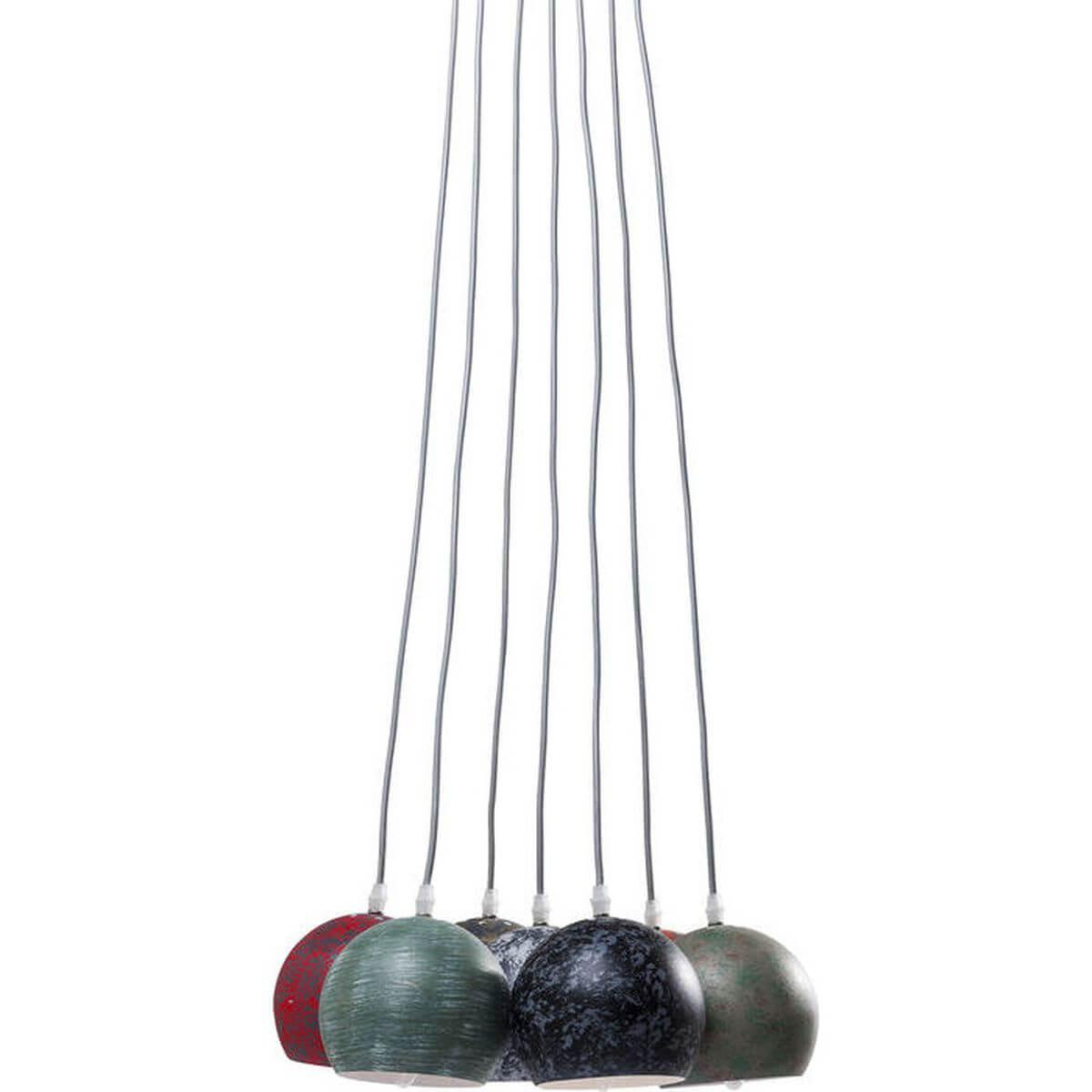 Suspension 7 lampes CALOTTA ANTICO Kare Design