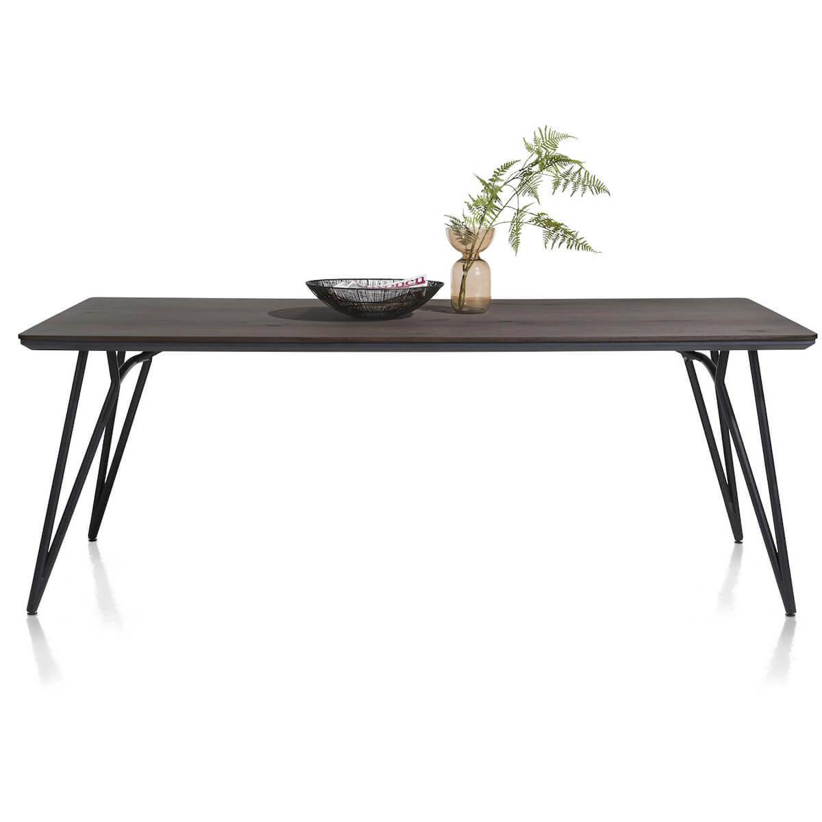Table 100x160cm VIK Xooon Onyx