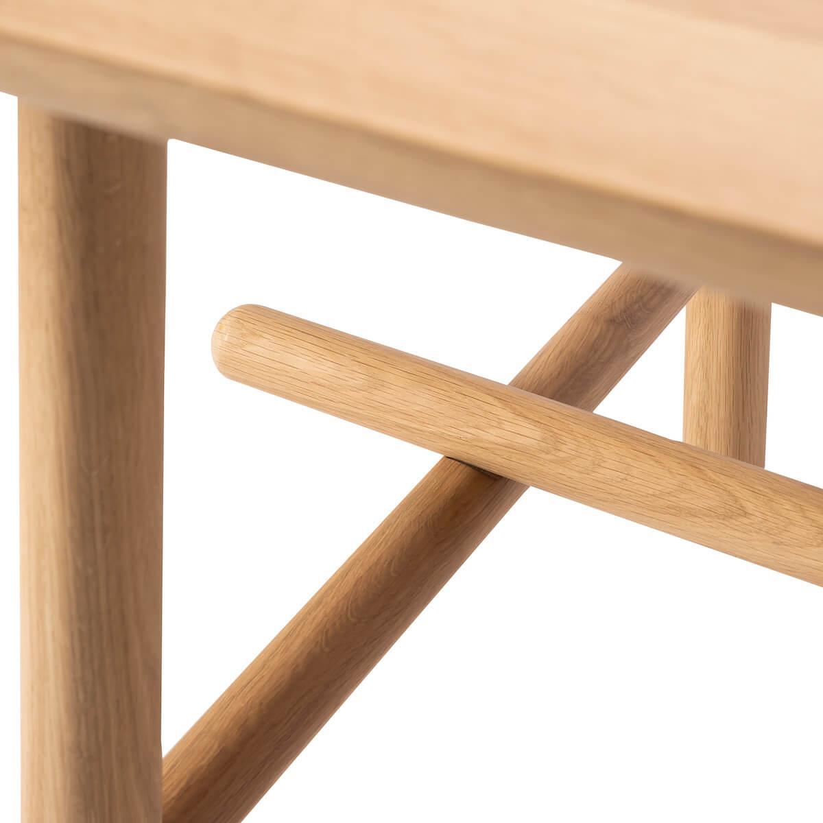 Table 100x180cm PROFILE Ethnicraft chêne