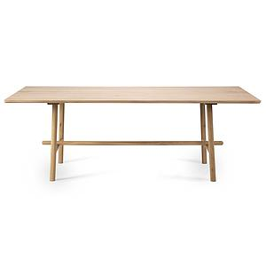 Table 100x180cm PROFILE Ethnicraft chêne