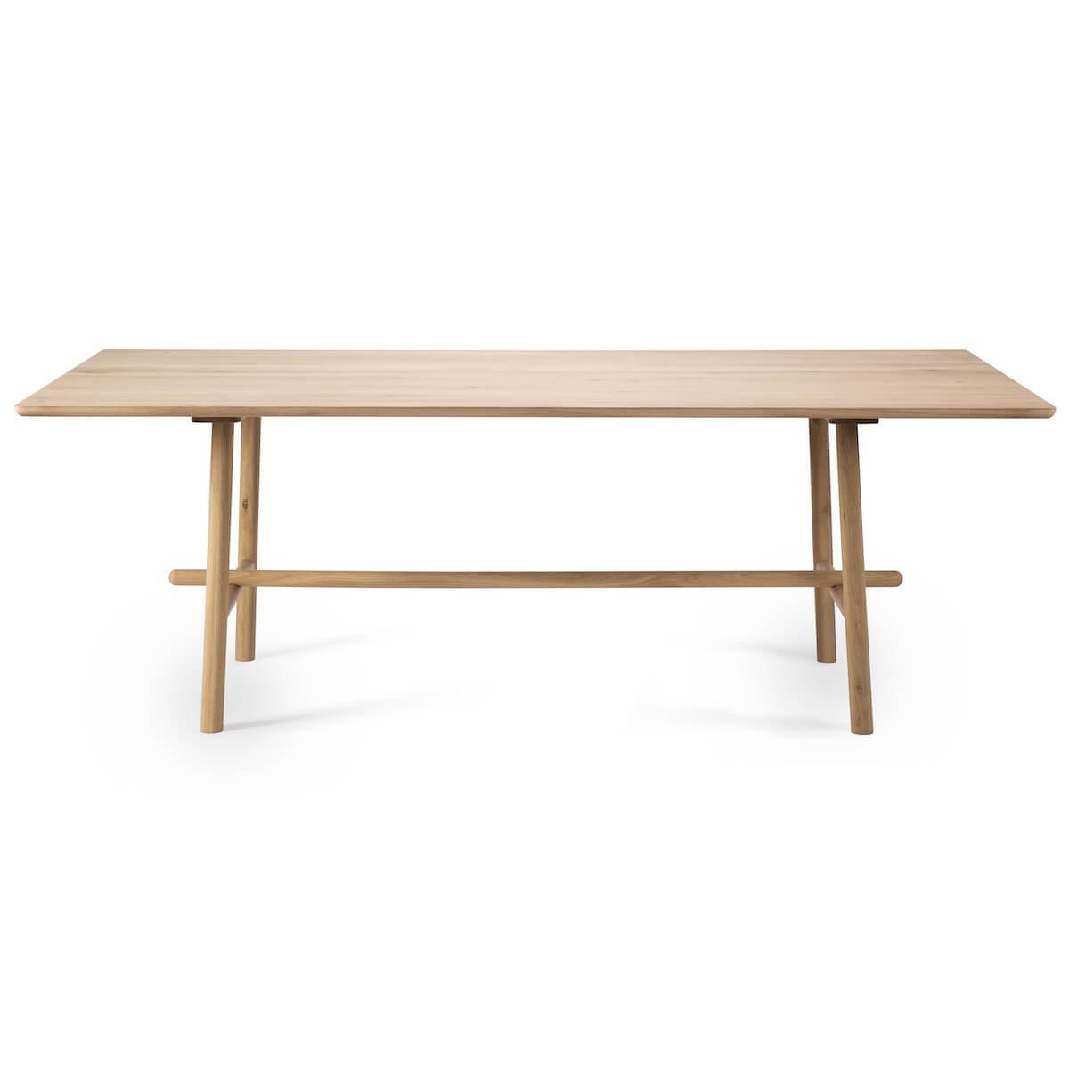 Table 100x200cm PROFILE Ethnicraft chêne