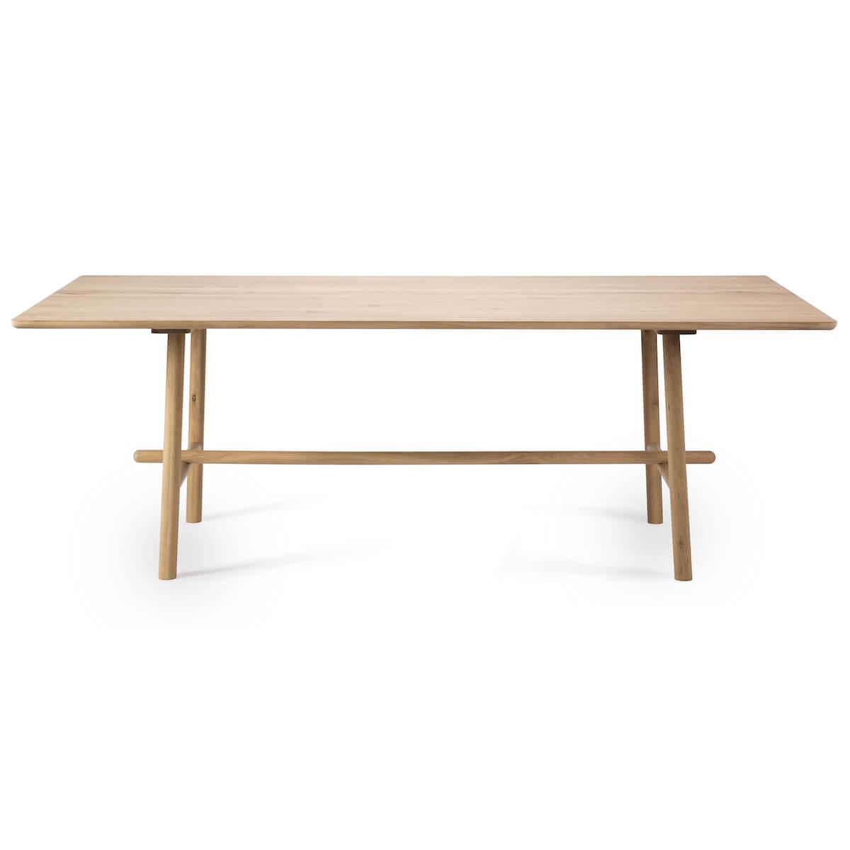 Table 100x220cm PROFILE Ethnicraft chêne