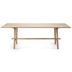 Table 100x220cm PROFILE Ethnicraft chêne