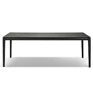 Table 100x240cm BOK Ethnicraft chêne noir