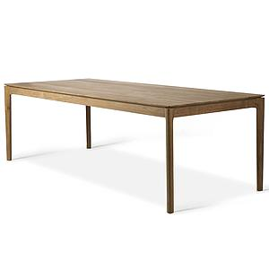 Table 100x240cm BOX Ethnicraft teck