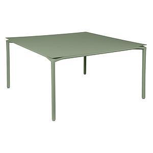 Table 140x140cm CALVI Fermob  vert cactus