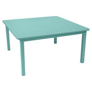 Table 143x143cm CRAFT Fermob Bleu lagune