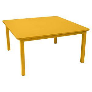 Table 143x143cm CRAFT Fermob miel