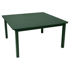 Table 143x143cm CRAFT Fermob vert cèdre