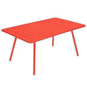 Table 165x100cm LUXEMBOURG Fermob capucine