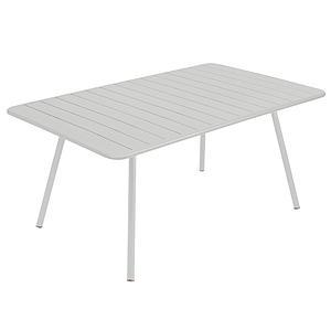 Table 165x100cm LUXEMBOURG Fermob gris métal