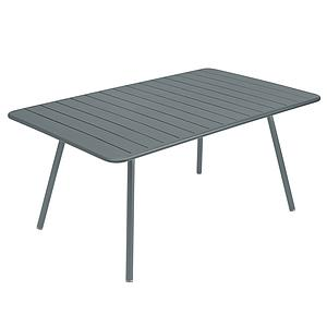 Table 165x100cm LUXEMBOURG Fermob gris orage