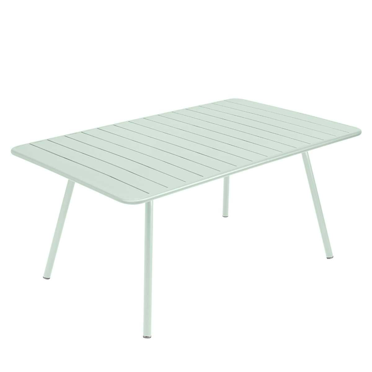 Table 165x100cm LUXEMBOURG Fermob menthe glaciale