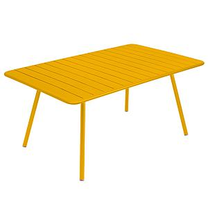 Table 165x100cm LUXEMBOURG Fermob miel