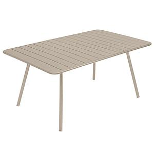 Table 165x100cm LUXEMBOURG Fermob muscade